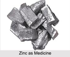 Use of Zinc as Medicines