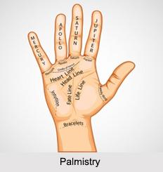 Palmistry, Astrology