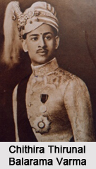 Princes/Maharajas of the Princely State of Travancore