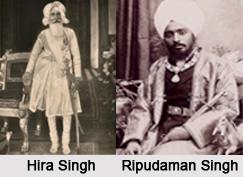 Princes/ Rajas/ Maharajas of the Princely State of Nabha