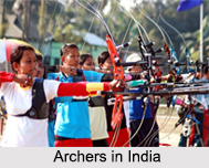 Archers in India, Indian Athletics