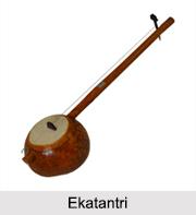 Ekatantri, String Instrument, Indian Musical Instruments