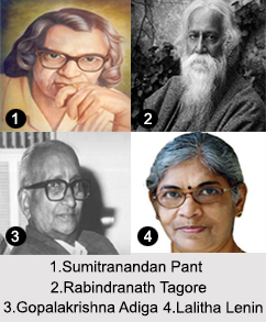 Indian Poets, Indian Literary Personalities