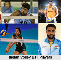 Indian Volleyball Players