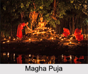 Magha Puja, Indian Buddhist Festivals, Indian Religious Festivals