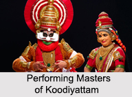 Performing Masters of Koodiyattam