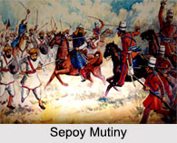 Re-conquests of Indian States during Sepoy Mutiny
