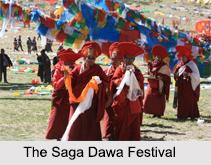 Saga Dawa, Indian Buddhist Festival, Indian Religious Festivals