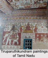 Tiruparuthikundram Paintings, Tamil Nadu, Indian Paintings