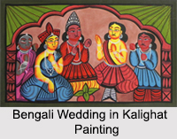 Folk Paintings of West Bengal, Indian Paintings