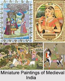 Miniature Paintings in Medieval India, Indian Paintings