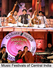 Music Festivals of Central India, Indian Music Festivals