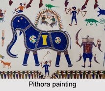 Tribal Paintings of Western India, Indian Paintings