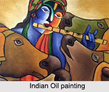 Indian Oil Painting, Indian Paintings