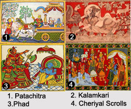 Folk Arts of India, Arts in India