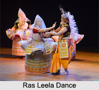Rasa Dance, Traditional Dance of Krishna, Indian Folk Dances, Indian Dances