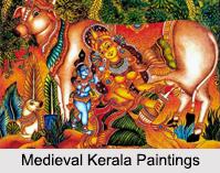 Medieval Kerala Paintings, Indian Paintings