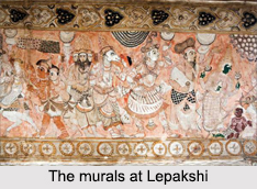 Murals in Lepakshi, Indian Paintings