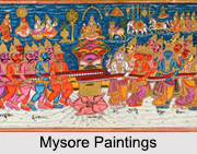 Mysore Painting, Indian Paintings