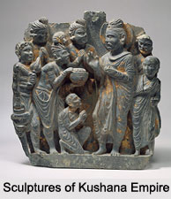 Sculptures of Kushana Empire, Indian Sculpture