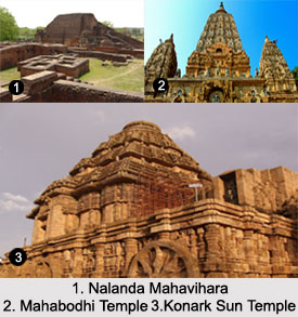 World Heritage Monuments in East India, Indian Monuments