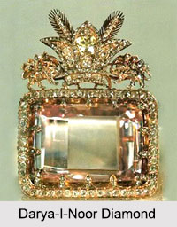 Darya-I-Noor Diamond, Indian Diamonds