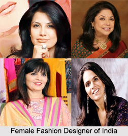 Female Fashion Designers of India, Indian Personalities