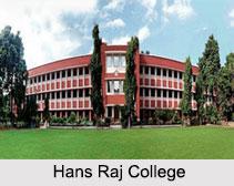 Hans Raj College, Mahatma Hans Raj College Road, New Delhi