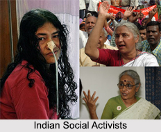 Indian Social Activists, Indian Personalities