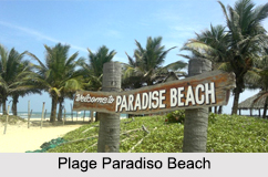 Plage Paradiso Island, Puducherry, Indian Union Territories