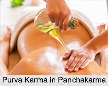 Purva Karma in Panchakarma, Ayurveda