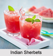 Indian Sherbets, Indian Beverage