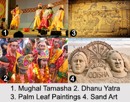 Folk Arts of Odisha, Performing Arts of Odisha, Arts in India