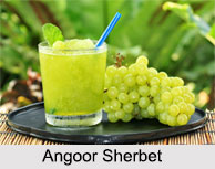 Angoor Sherbet, Indian Sherbet