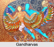 Gandharvas, Male Counterpart of Apsaras, Indian Mythology