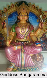 Goddess Bangaramma, Dravidian Deity