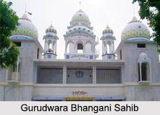 Gurudwara Bhangani Sahib, Bhangani, Sirmaur, Himachal Pradesh