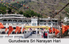 Gurudwara Sri Narayan Hari, Manikaran-Manali, Himachal Pradesh