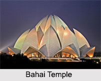 History of Bahai Temple, Bahai Temple, Indian Temples