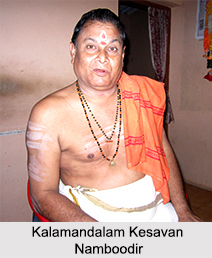 Kalamandalam Kesavan Namboodiri, Indian Dancer