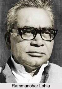 Rammanohar Lohia, Indian Freedom Fighter