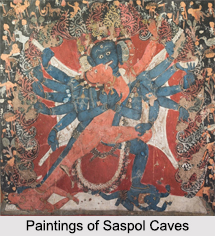 Saspol Caves, Jammu and Kashmir, Indian Monuments