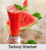 Tarbooj Sherbet, Indian Sherbet