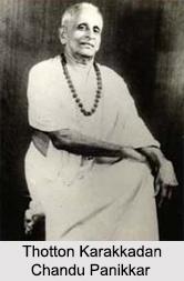 Thotton Karakkadan Chandu Panikkar, Indian Kathakali Dancer