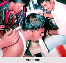 Vamana, Treatment in Ayurveda