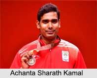 Achanta Sharath Kamal, Indian Table Tennis Player