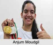 Anjum Moudgil, Indian Badminton Players