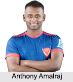Anthony Amalraj, Indian Table Tennis Players