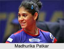 Madhurika Patkar, Indian Table Tennis Players