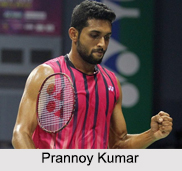 Prannoy Haseena Sunil Kumar, Indian Badminton Player